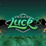 vegas luck casino logo green